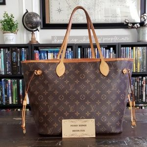 Louis Vuitton Bags - *SOLD*Authentic Louis Vuitton Neverfull MM